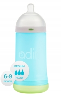 Бутылочка Adiri NxGen Medium Flow Blue (6-9 мес., 281 ml)